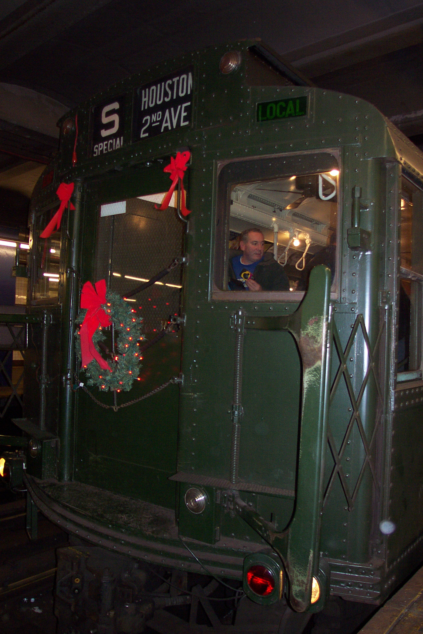 MTA Vintage Subway Car